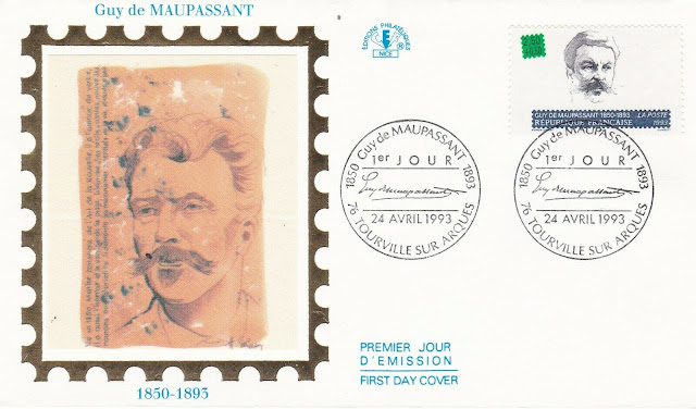 France 1993 Guy de Maupassant FDC