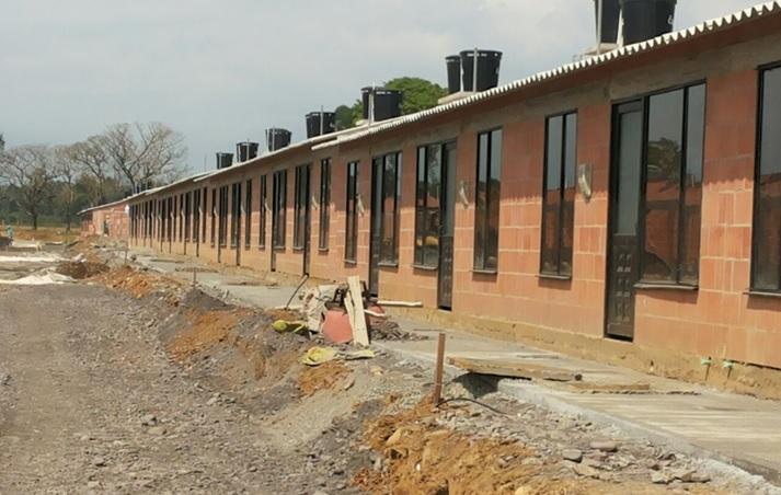en este momento no hay convocatorias para ningún programa de vivienda, que ya se entregaron todas las casas de La Madrid