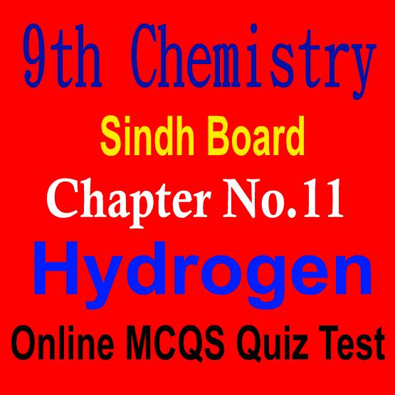 9th Sindh Board MCQs