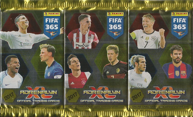 Panini Adrenalyn XL FIFA 365 2018 alle 10 Blister inklusive Limited Edition