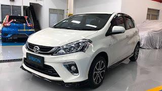 Harga Daihatsu Sirion Palembang