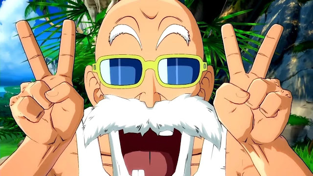 Dragon Ball FighterZ Mestre Kame