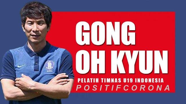Pelatih Gong Oh-kyun Positif Corona