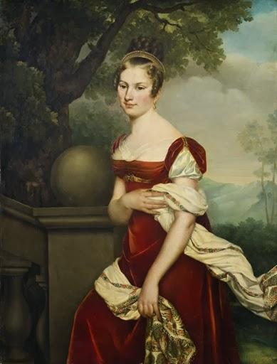 Portrait de Mademoiselle Raucourt de l'Opéra Comique (1812), Adèle Romany