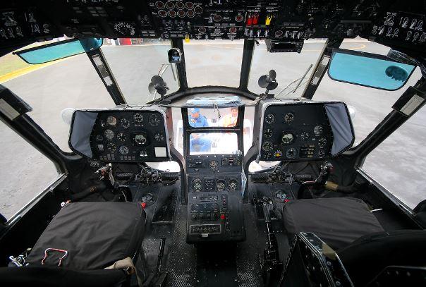 Mil Mi-8 Hip cockpit