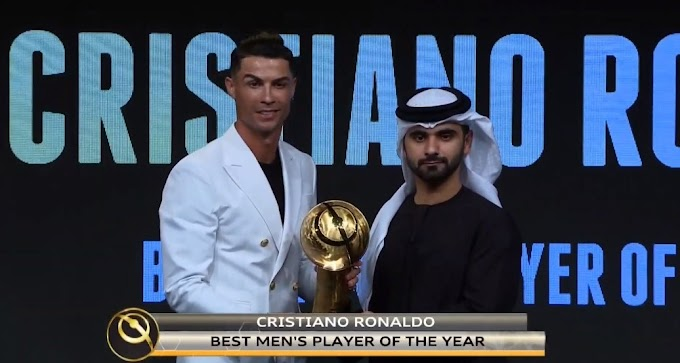 OFFICIAL: Ronaldo crowned Globe Soccer Awards' Best Player of the Year for 2019