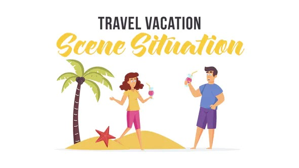 Videohive Travel vacation – Scene Situation 28480061
