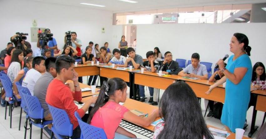MINEDU dialoga con adolescentes sobre importancia de igualdad entre hombres y mujeres - www.minedu.gob.pe