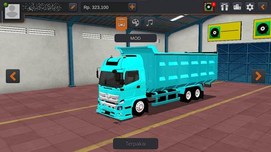 Livery Hino 500 Tosca Dumptruck