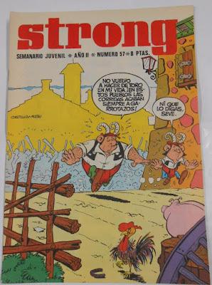 Portada de Strong nº 57 (1970)