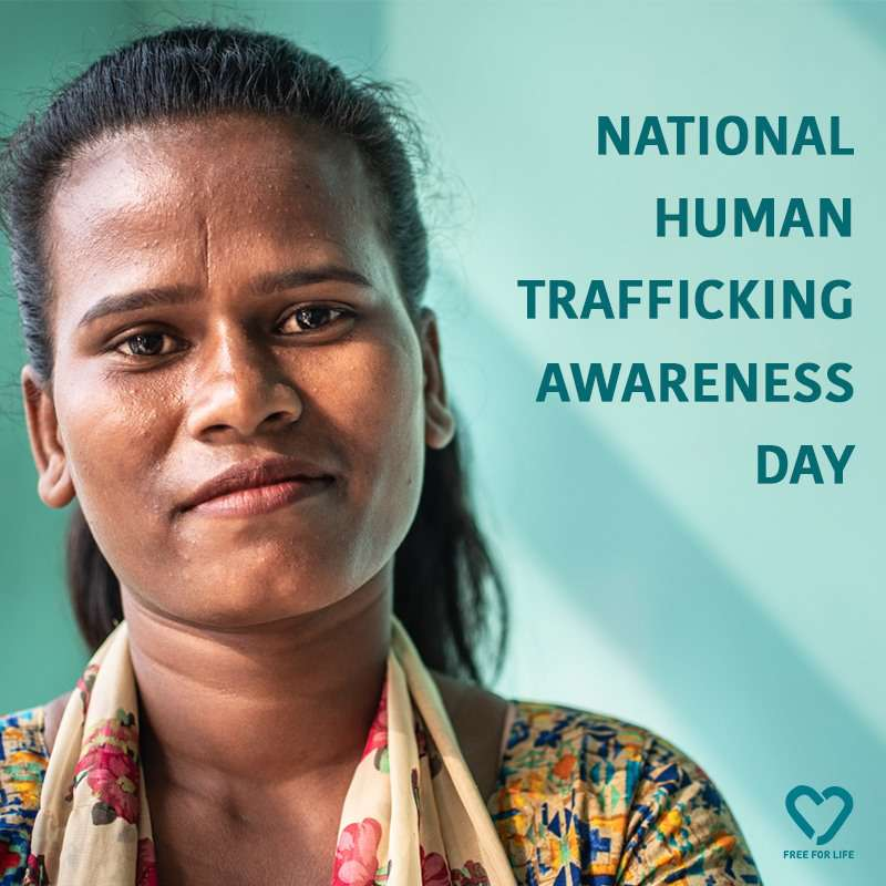National Human Trafficking Awareness Day Wishes for Instagram