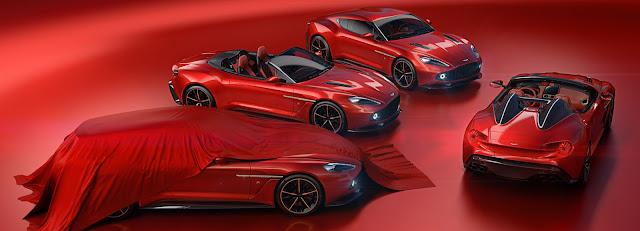 Aston Martins debuts in Vanquish Zagato Volante series