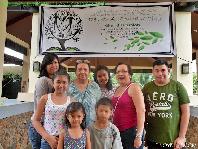 Reyes-Altamirano Clan Reunion - Lipa City