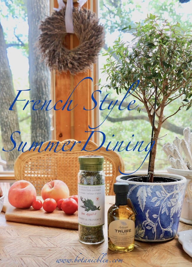 French Style Summer Dining