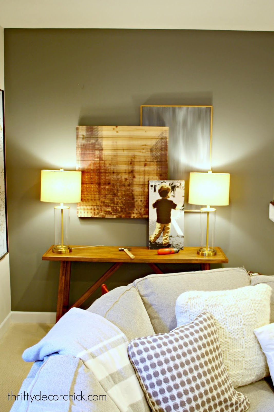 Layered gallery wall tips
