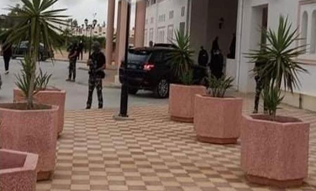 Kaïs Saïed à Sidi Bouzid قيس سعيد سيدي بوزيد