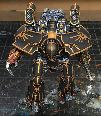 Warlord-Sinister for Adeptus Titanicus WIP