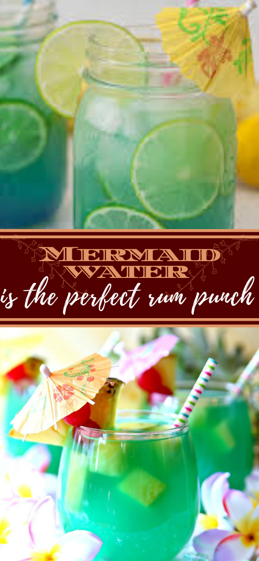 Mermaid Water  #healthydrink #easyrecipe #cocktail #smoothie