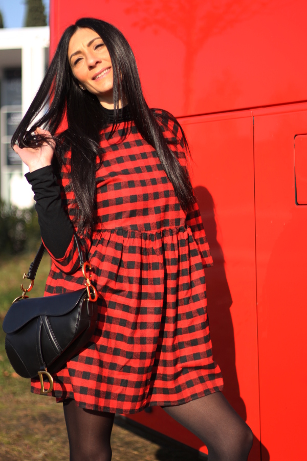 themorasmoothie, shein, tartan dress, tartan mania, tartan outfit, influencermarketing, influencersofinstagram, instablogger, tartanstyle, vestito tartan , look in tartan, tartan look, tartan fashion, fashionblogger, italian fashion blogger, fashion blogger italiana, woman fashion, look autunnale, come indossare il tartan