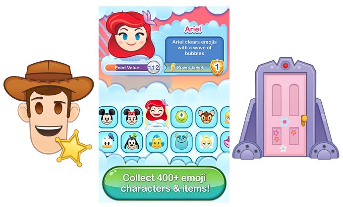 Disney Emoji Blitz Review - More Than 400 Disney & Pixar Themed