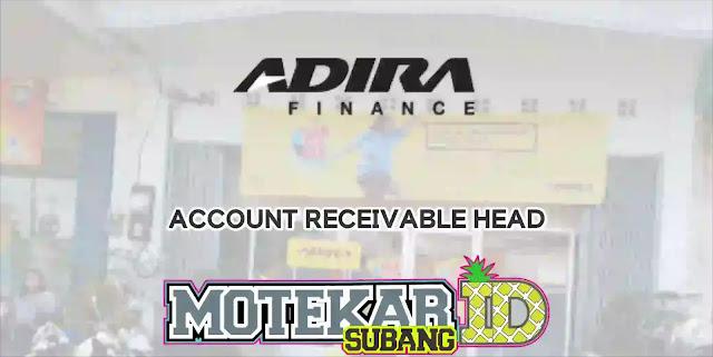 Info Loker Account Receivable Head Subang 2019