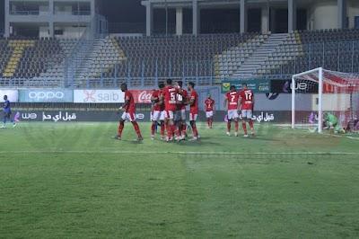 بعدسة الخبر المصري | شاهد أبرز لقطات الشوط الثاني لمباراة الأهلي وأسوان في الدوري
