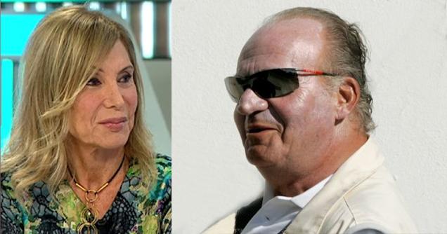 Pilar Eyre y Juan Carlos I