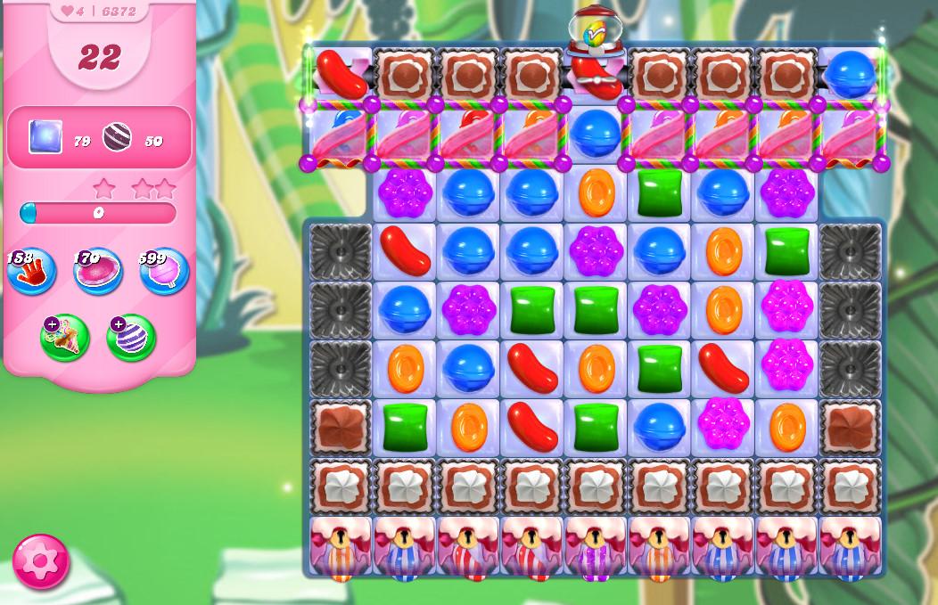 Candy Crush Saga level 6372