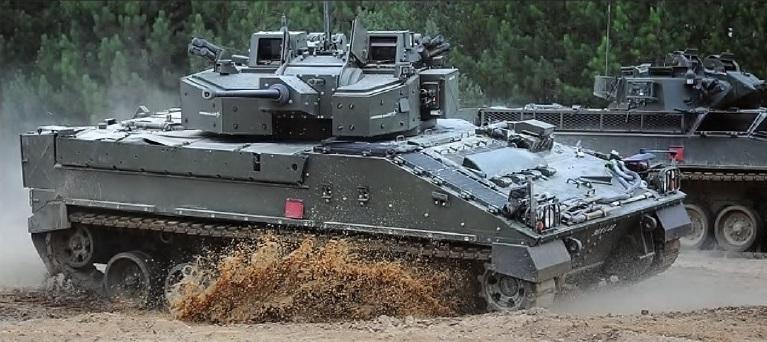 Модернізовану БМП Ворріор планували уніфікувати з Ейджексом за основним озброєнням