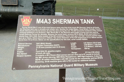 M4A3 Sherman Tank at Fort Indiantown Gap in Pennsylvania