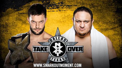 WWE NXT TakeOver: Dallas Samoa Joe vs Finn Balor