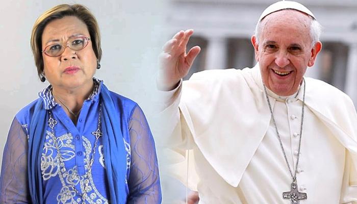 Ex-Senator Leila De Lima Receives Gift From Pope Francis