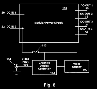 US Patent 7338330 - Vehicle power system with integrated graphics display