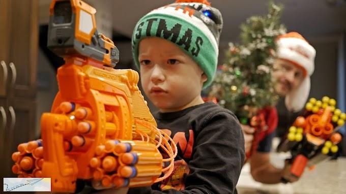 4 Lý Do Nên Chọn Súng Nerf Làm Quà Giáng Sinh Cho Bé Trai