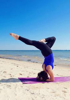 Cara mengencangkan paha mulus wanita dengan yoga