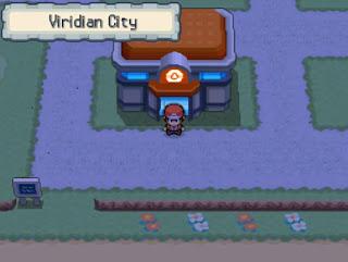 Pokemon Red Reloaded/Rojo Fuego para NDS Ciudad Verde