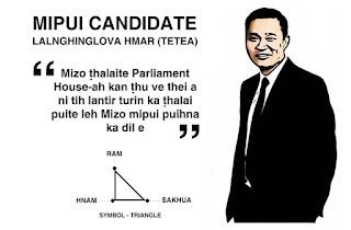 Mipui Candidate Lalnghinglova Hmar (Tetea Hmar)