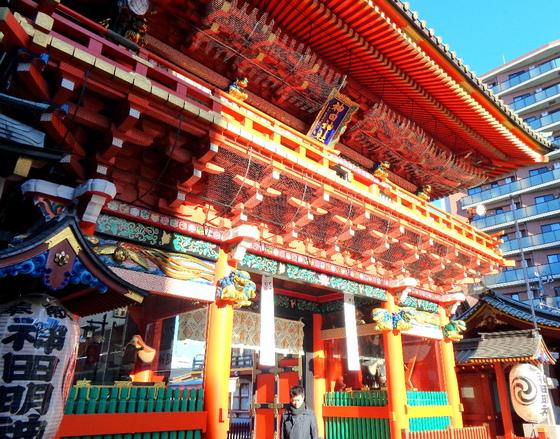 Kagura-hajime at Kanda Myojin Shrine, Chiyoda-ku, Tokyo