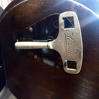 chìa khóa Hermle nguyên bản