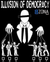 La fiesta democrática de unos pocos
