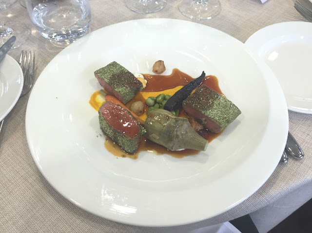 Gemma Amor's Spring Lamb Panoramic Restaurant Ascot