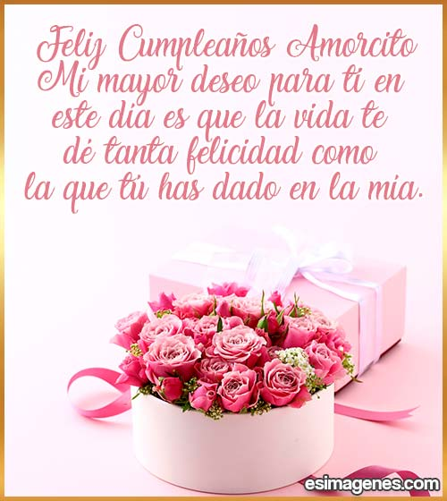 cumpleaños mi amor