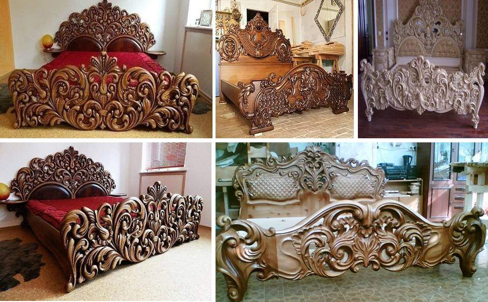 25 Rustic Handmade Wooden Bed Frame Designs Ideas - Decor Units
