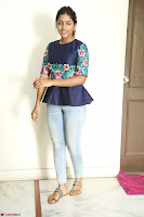 Eesha Looks super cute stunning in Denim Jeans and Top at Darsakudu movie Inerview ~  Exclusive 007.JPG