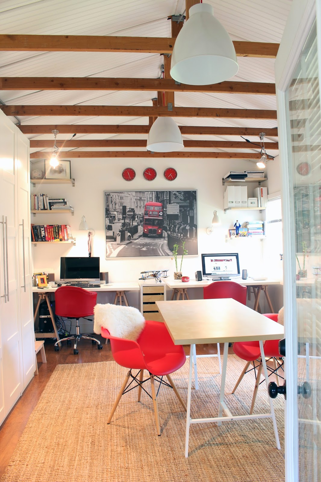 Back On Festive Road: Houzz Feature: My Garage Conversion