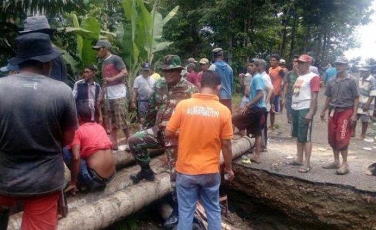 Banjir Dan Longsor, Landa Kabupaten Sidrap