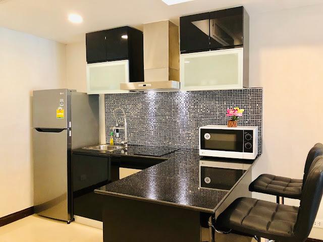 Patong Harbor View Unit C 102 Kitchen