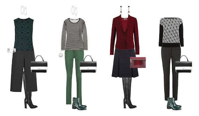 Комплекты гардероба в стиле минимализм Project 333