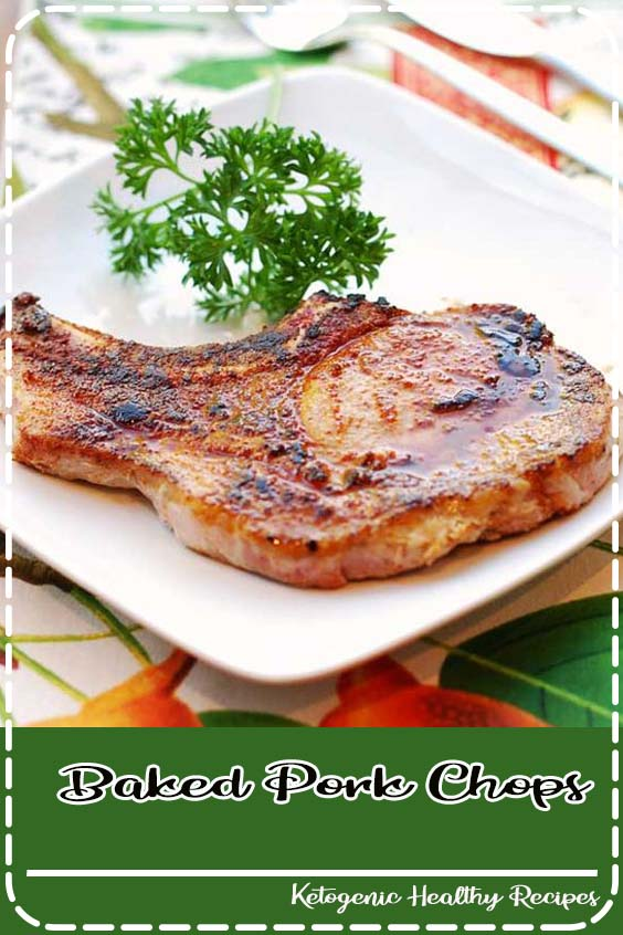 Baked pork chops are one of my favorite weeknight dinners Baked Pork Chops