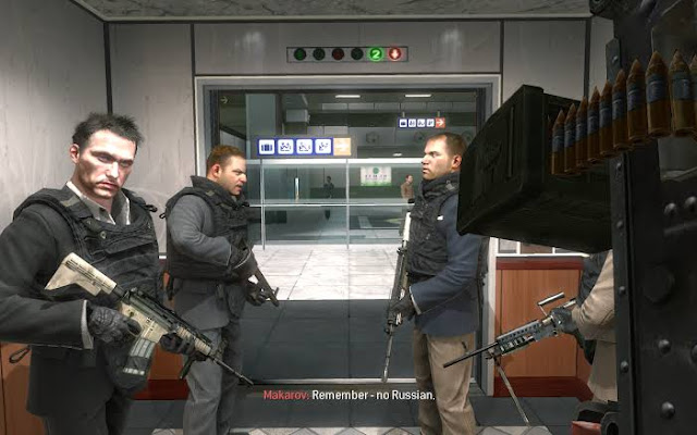 Mission Modern Warfare 2 No Russian